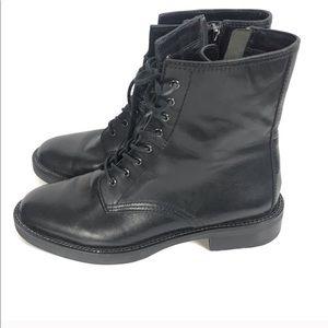 Coach New York Boots Size 8 B Eddison Black
